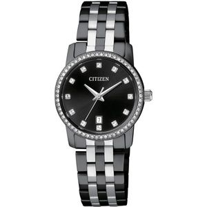 EU6037-57E Women's Two Tone Stainless Steel Band
